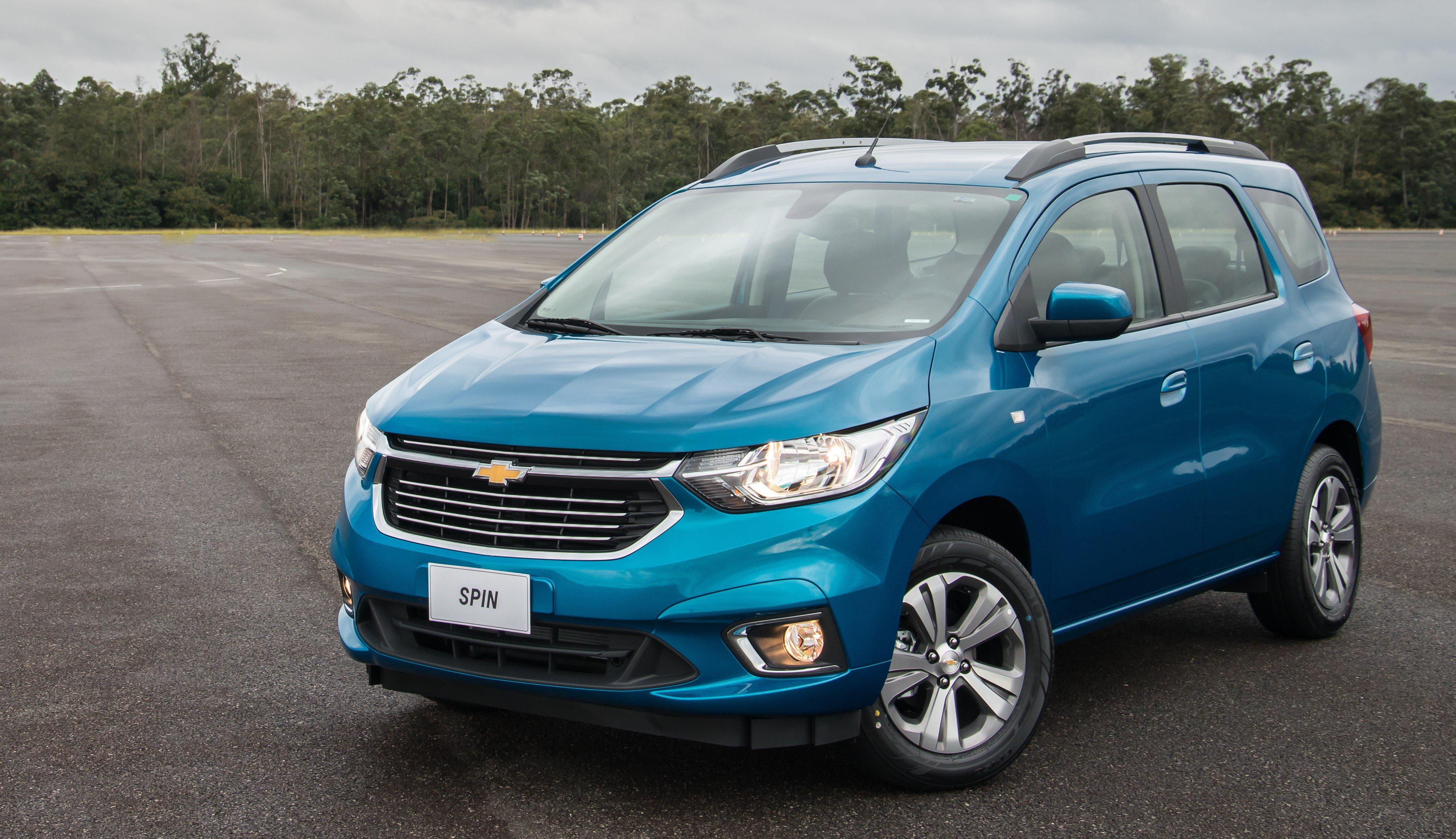 Novo Chevrolet Spin 2019 se destaca pelo design, espaço para 7 lugares e mais equipamentos