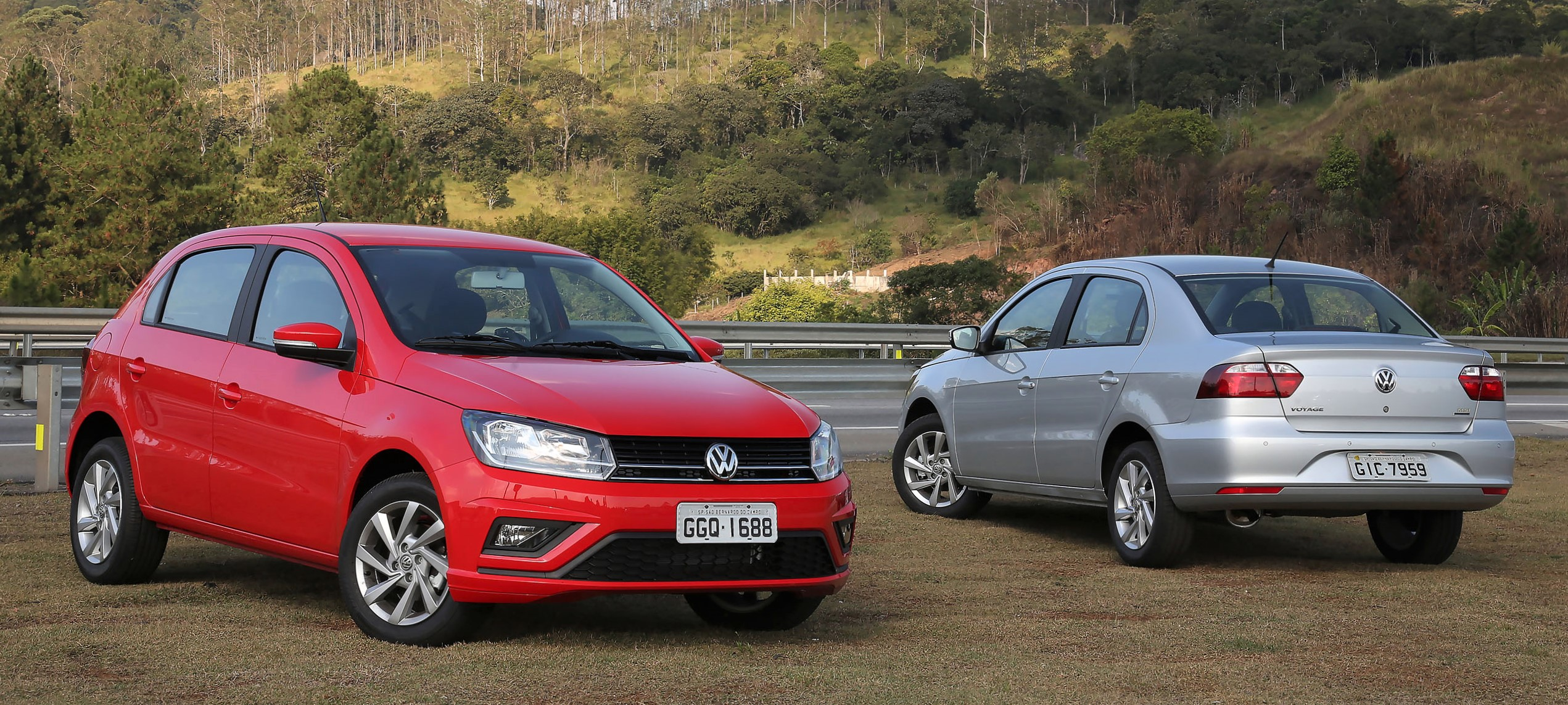 Volkswagen Gol e Voyage 2019 trazem o conforto do câmbio automático e a força de 120 cavalos