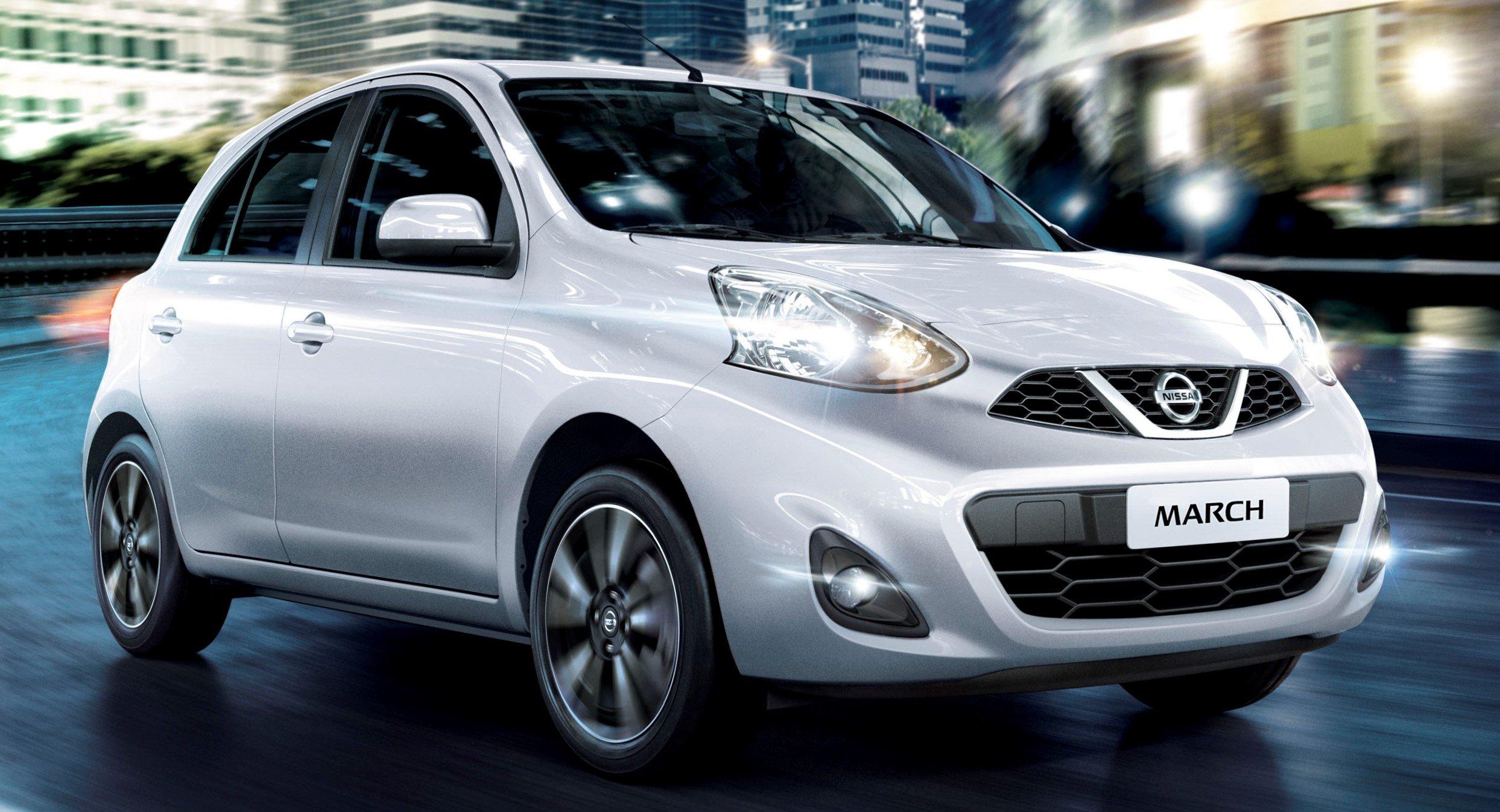 Nissan March é o automóvel com a menor desvalorização do segmento no Brasil