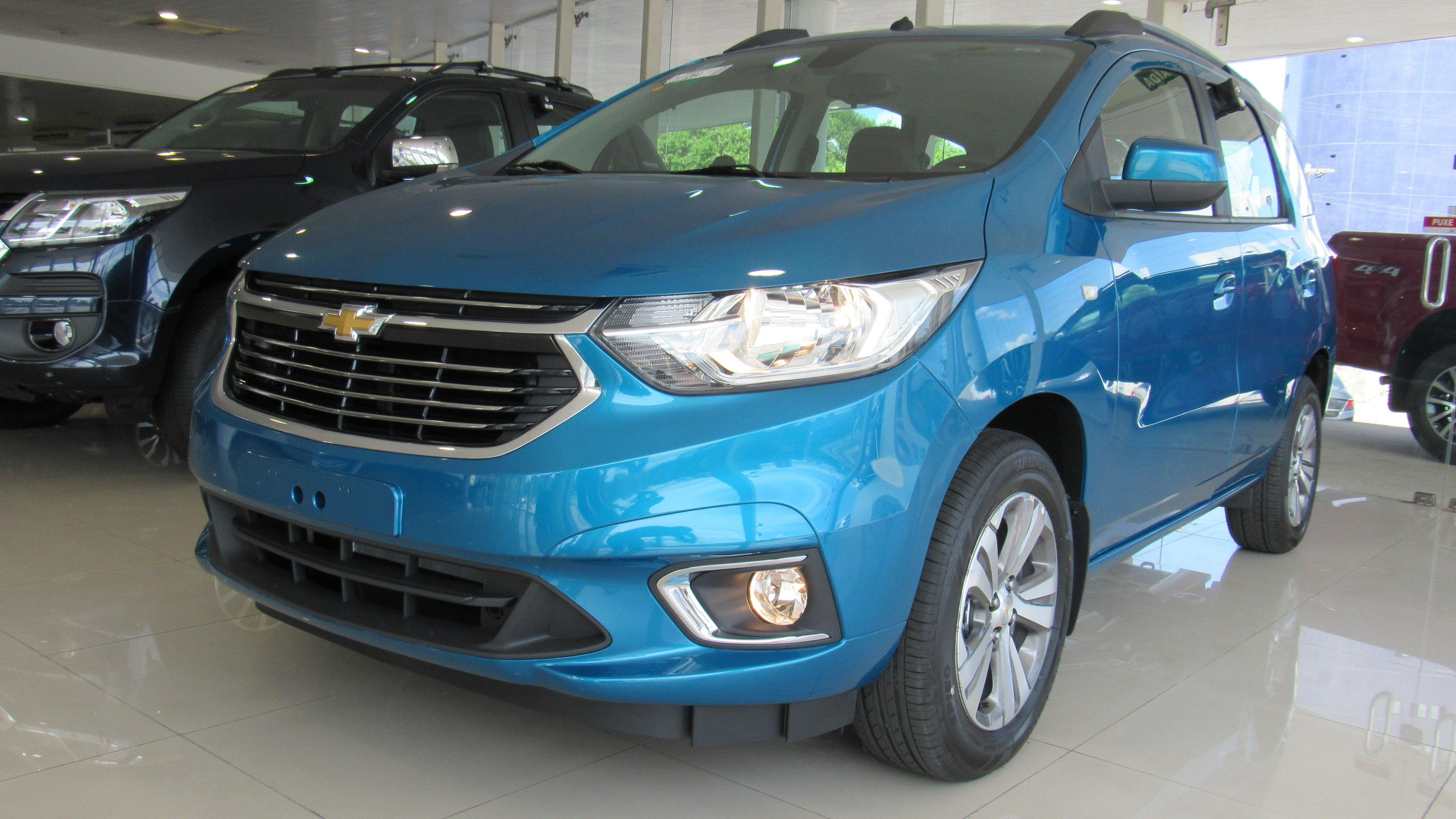 Chevrolet Spin 2019 chega às concessionárias com mais equipamentos e espaço para 7 pessoas