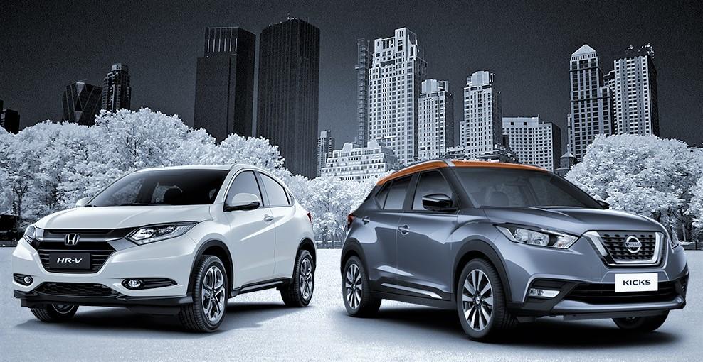 Nissan Kicks SL ou Honda HR-V Touring? Saiba qual SUV oferece mais e custa menos