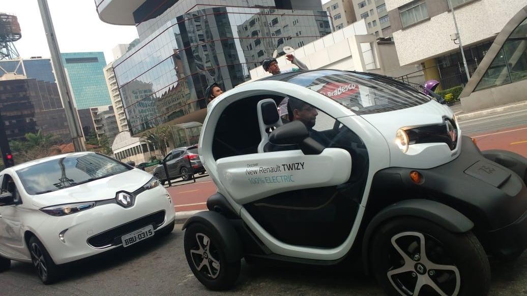 Renault participa do Dia da Mobilidade Elétrica com automóveis sem emissões de poluentes