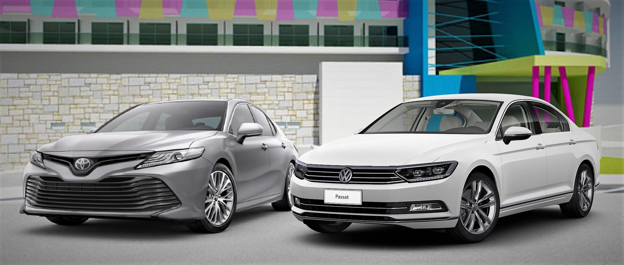 Volkswagen Passat enfrenta Toyota Camry: saiba qual é o melhor sedã executivo