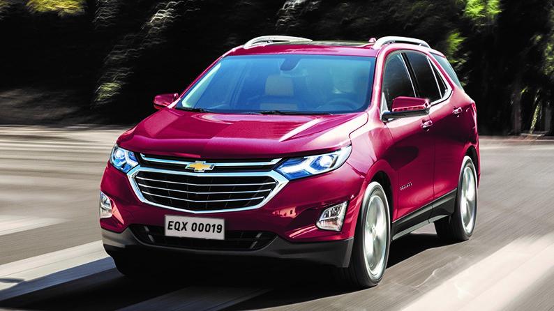 Chevrolet Equinox 2019 traz de série detector de pedestre com auxílio de frenagem