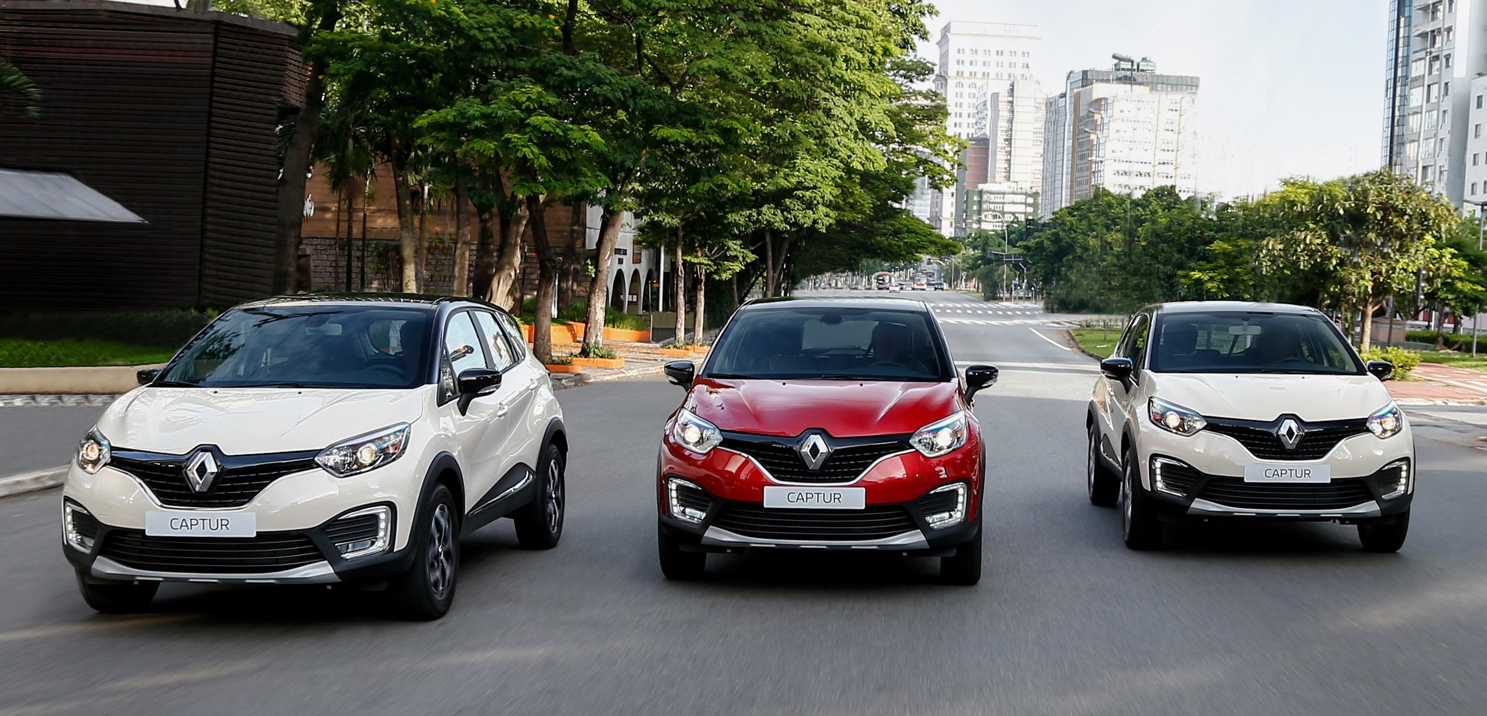 Renault Captur, Duster e Oroch estão com preços até R$ 13.000,00 mais baixos neste mês