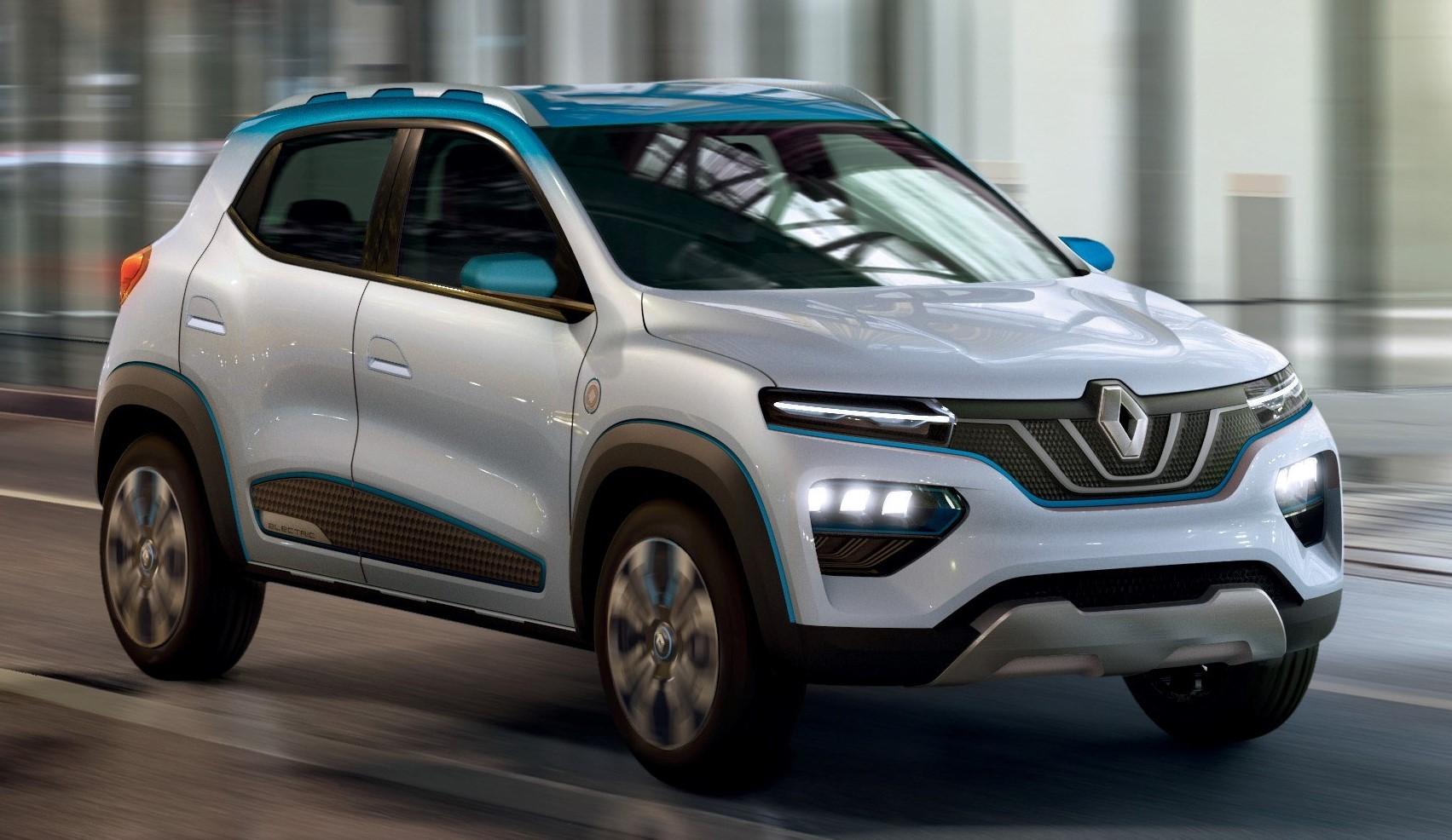 Renault apresenta o K-ZE, versão 100% elétrica do Kwid, com autonomia de 250 quilômetros