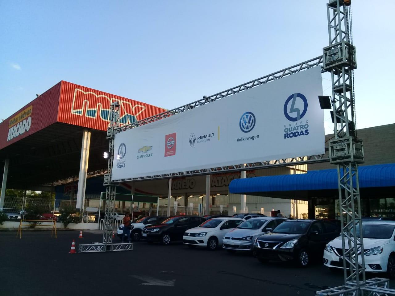 Feirão Grandes Marcas: só hoje, carros 0km com ofertas imbatíveis no Cocais Shopping!