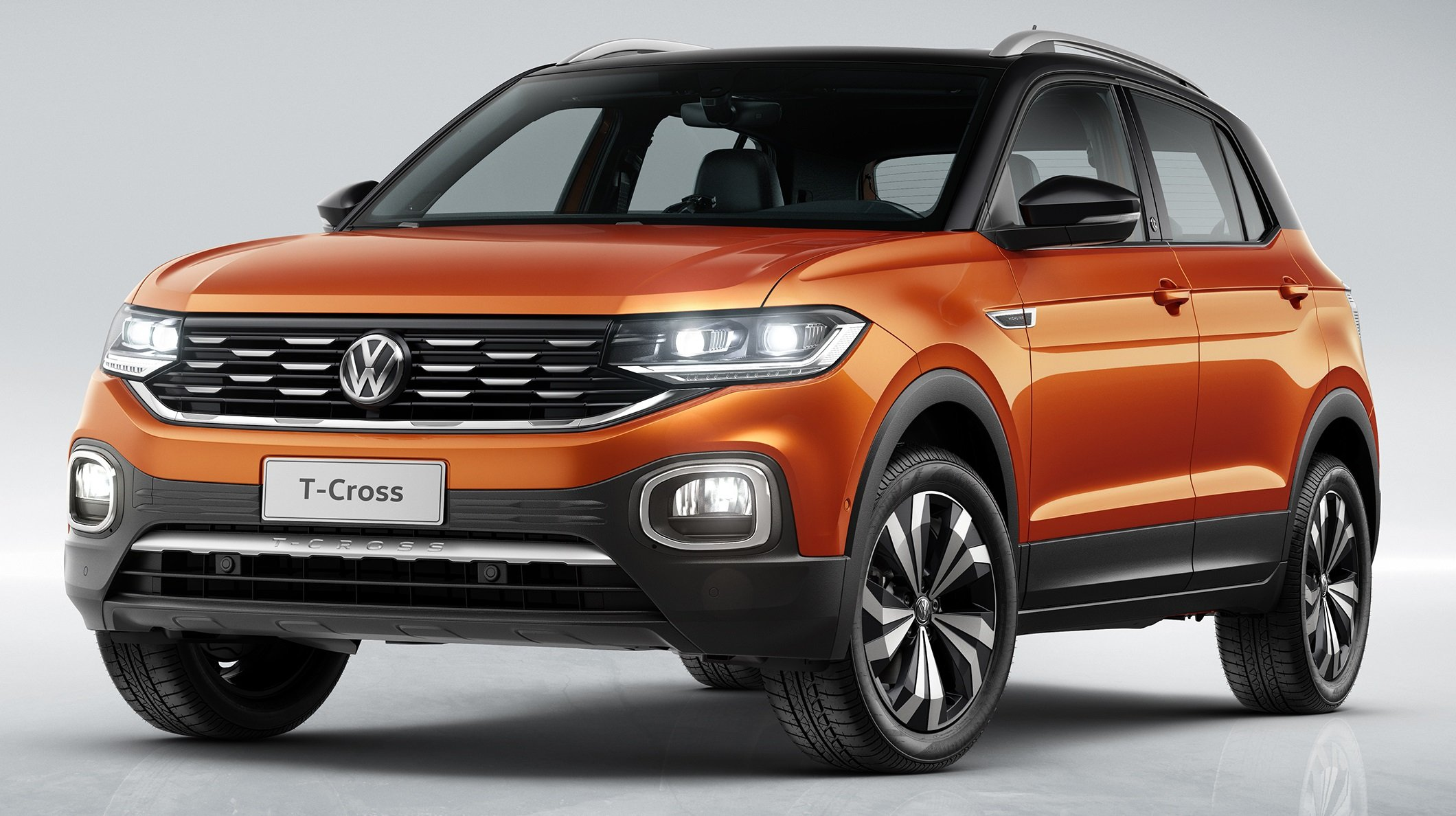 Volkswagen T-Cross, que chega em abril, é o SUV com menor custo de reparo do Brasil