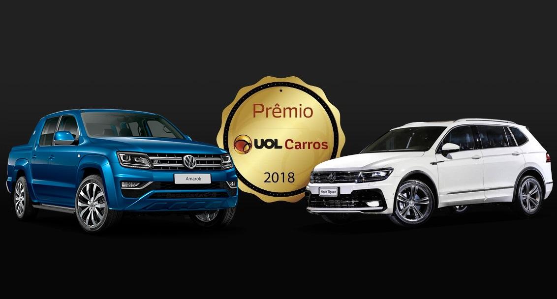 Volkswagen Tiguan Allspace e Amarok V6 são eleitos Melhores Carros de suas categorias