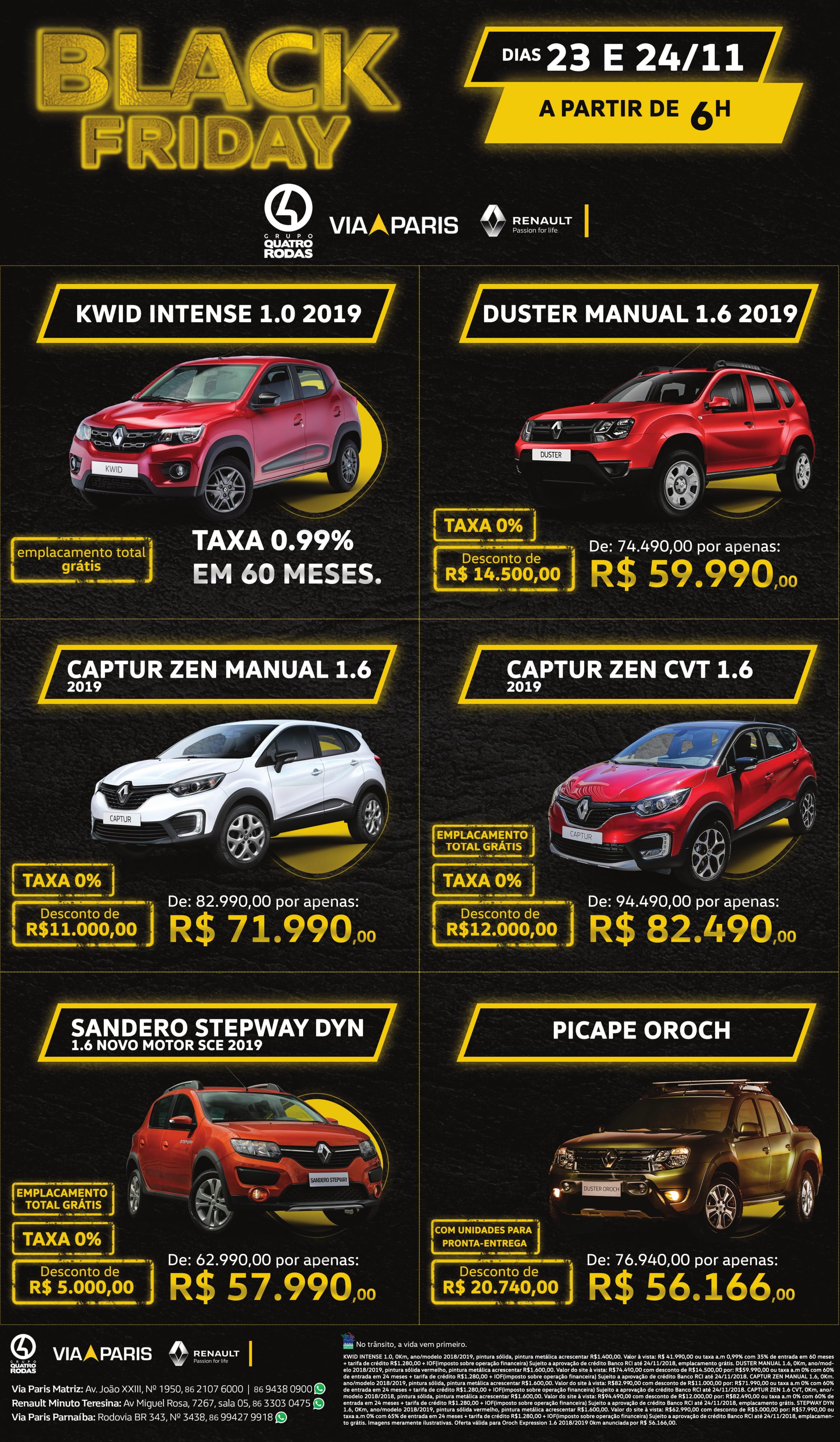 Black Friday das marcas do Grupo 4 Rodas: descontos de até R$ 20.000,00 e as melhores ofertas para você!