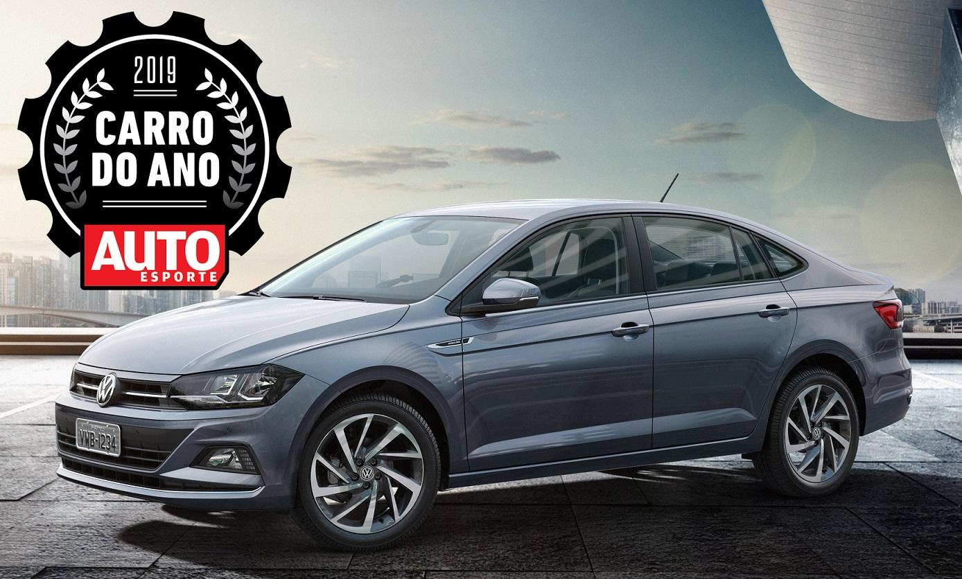 Volkswagen Virtus conquista sua mais importante premiação: é o Carro do Ano