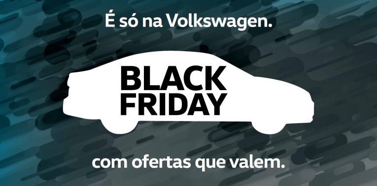 Novembro é o mês da Black Friday na Volkswagen, com bônus de até R$ 15.000,00
