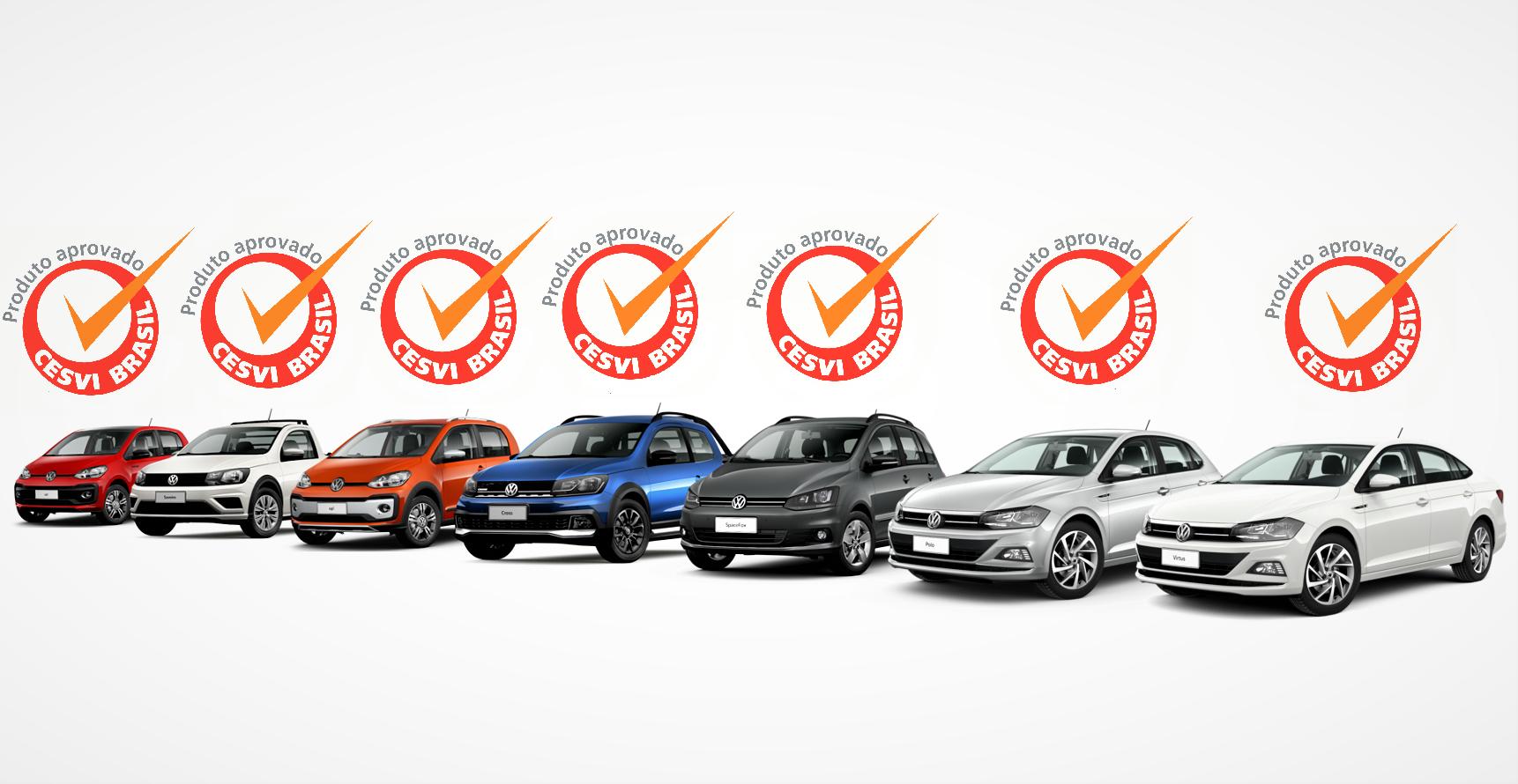Linha Volkswagen conquista 7 prêmios de reparabilidade mais fácil e barata do Brasil