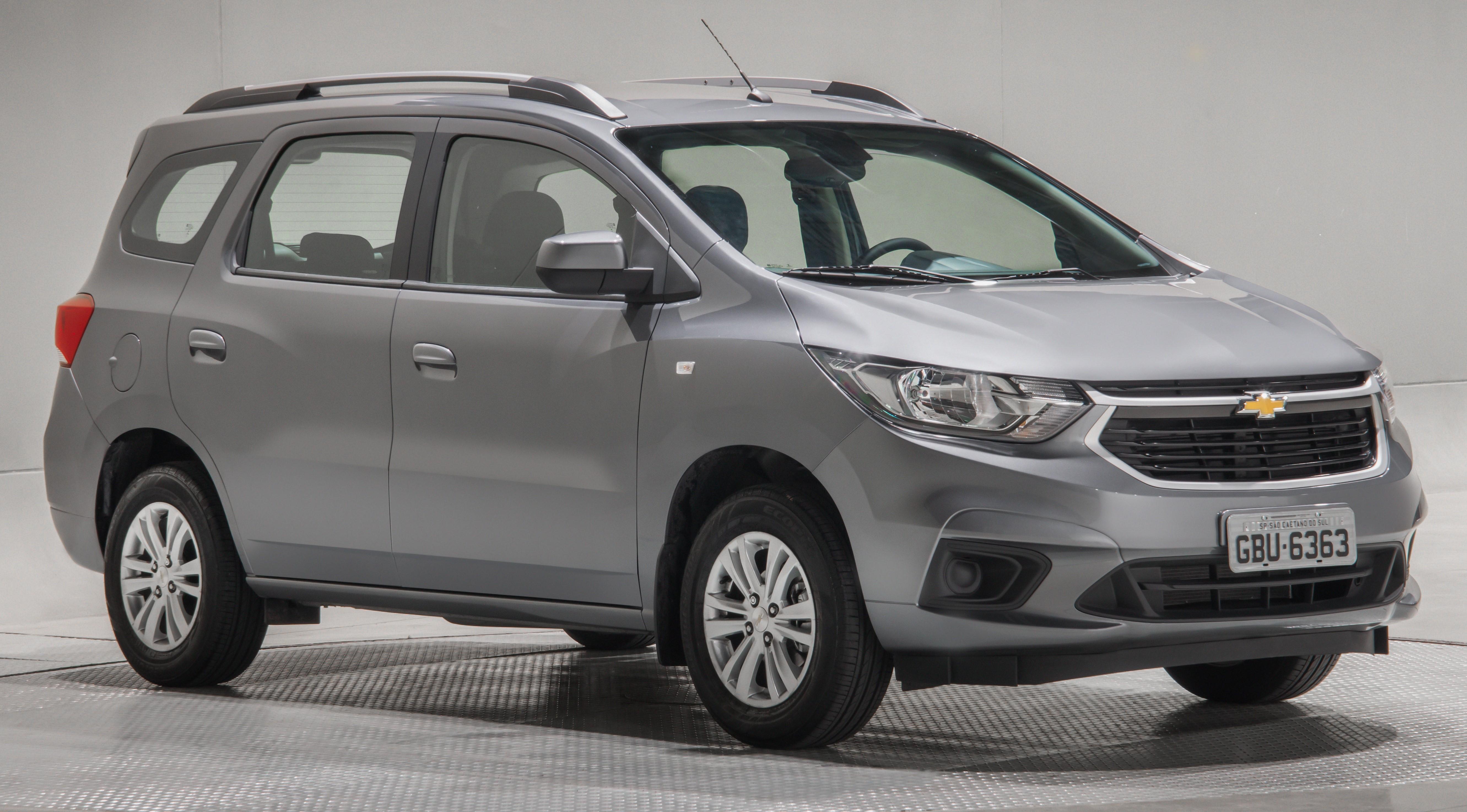 Chevrolet Spin estreia versão para portadores de necessidades especiais, com câmbio automático