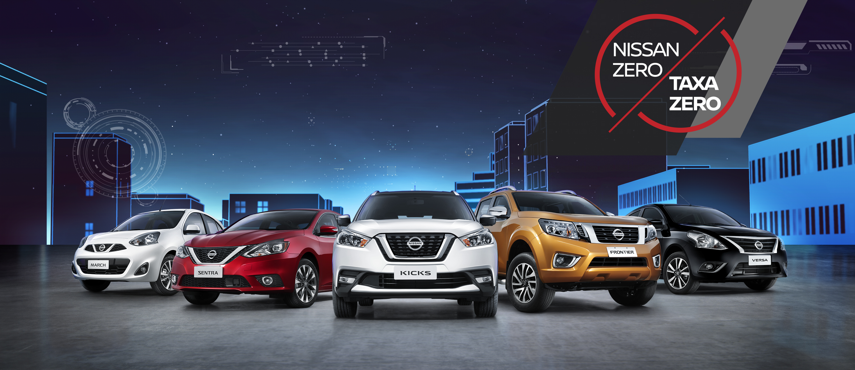 Nissan oferece taxa zero para toda sua linha e super descontos de até R$ 8.000,00: aproveite!
