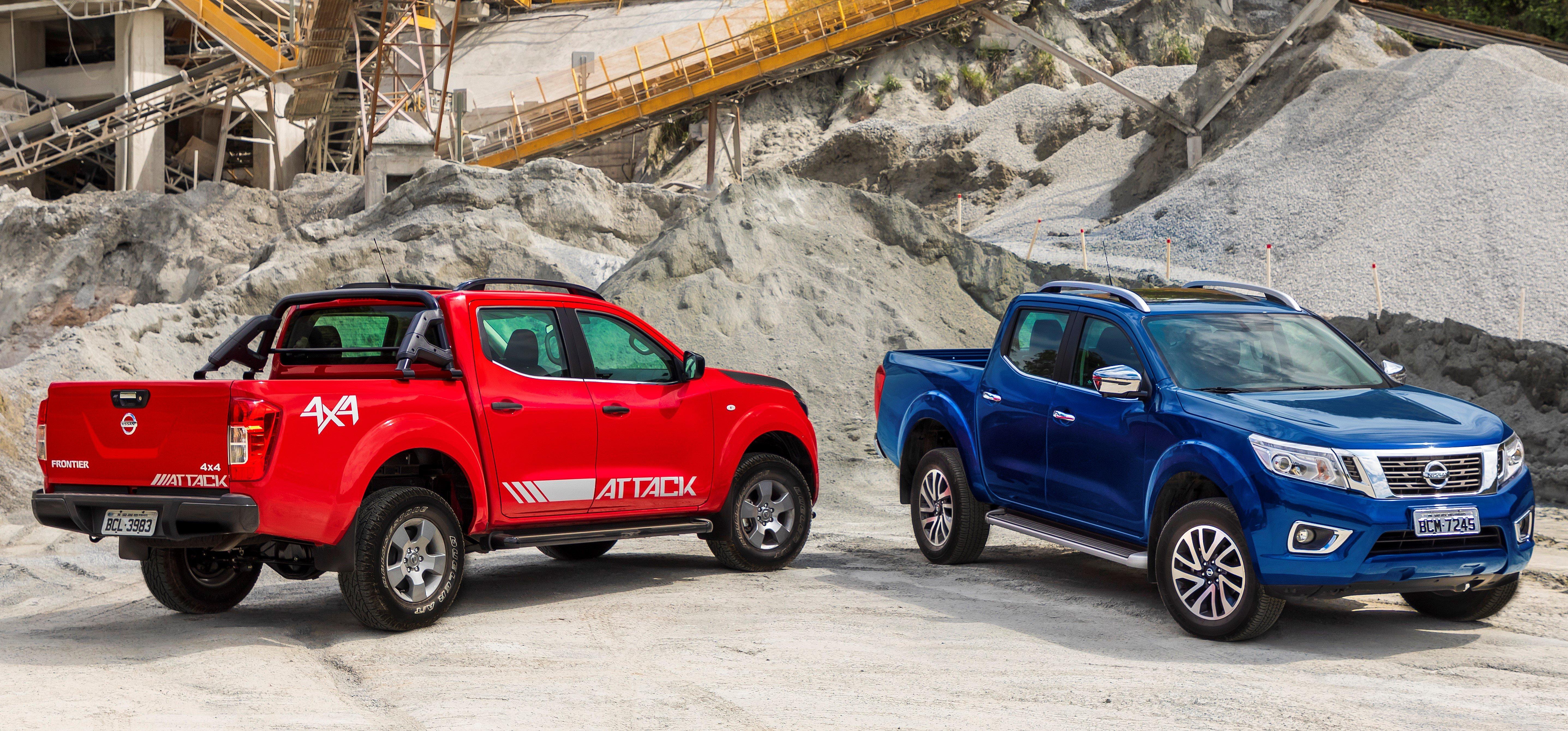 Nissan Frontier 2019 chega trazendo diversas melhorias mecânicas e mais equipamentos