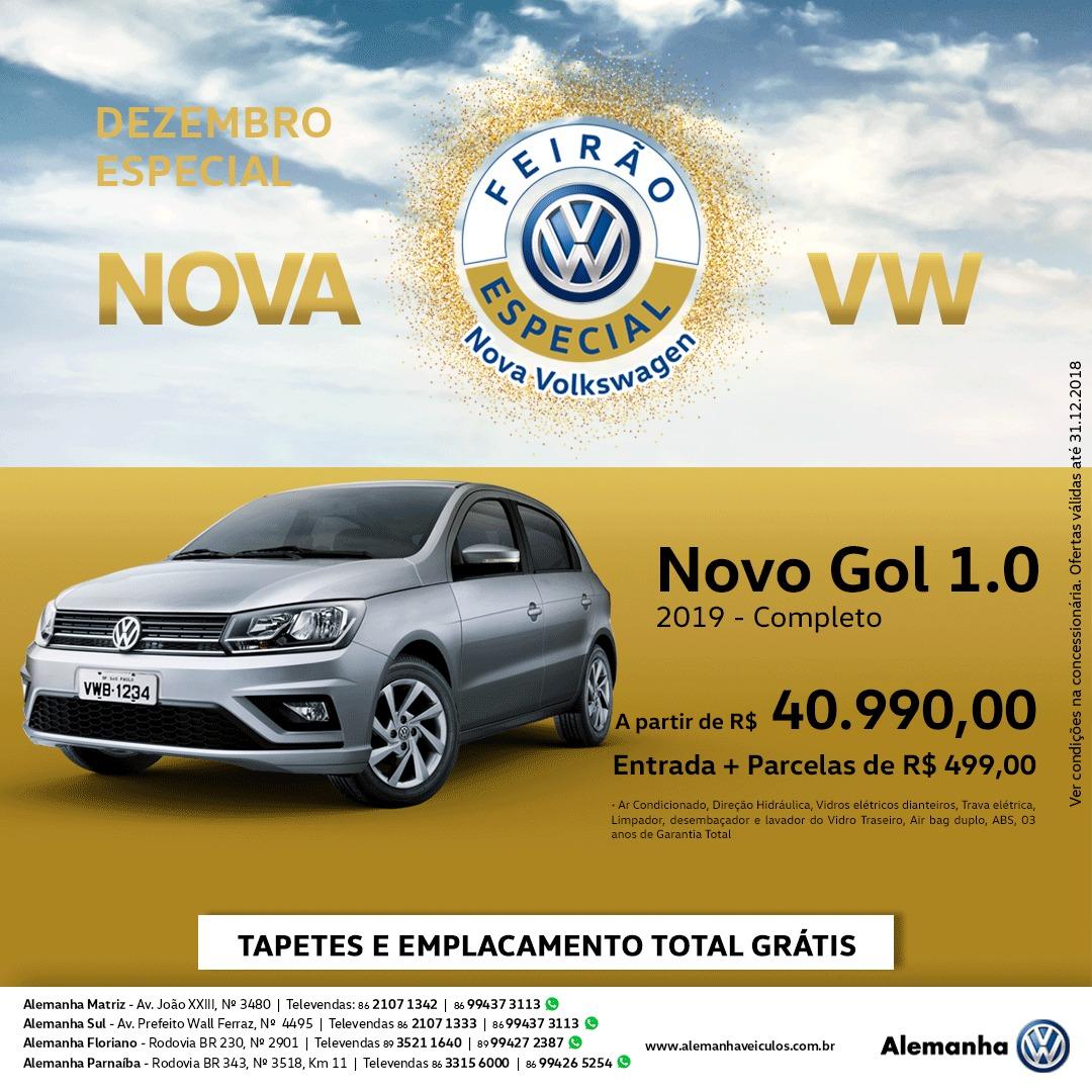 Aproveite o Dezembro Especial Volkswagen: toda a linha com condições especiais só este mês!