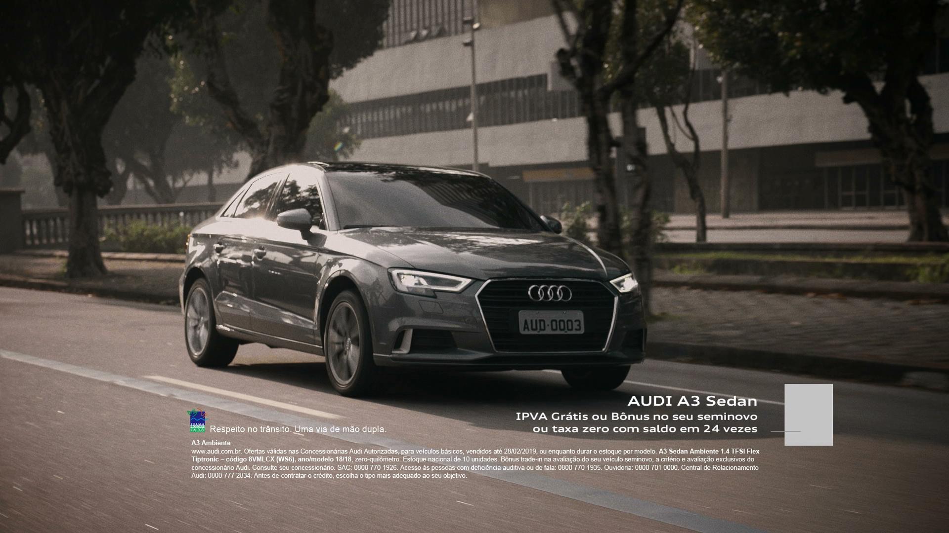 Audi mostra novo posicionamento de mercado no Brasil em suas campanhas publicitárias