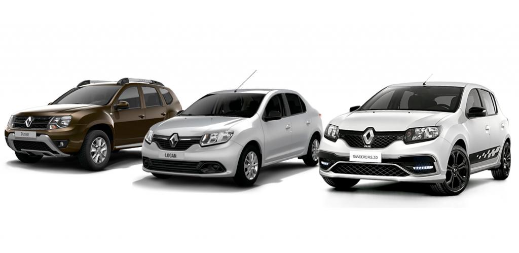 Linha 2020: Renault Sandero, Logan e Duster estreiam central multimídia com espelhamento de celular