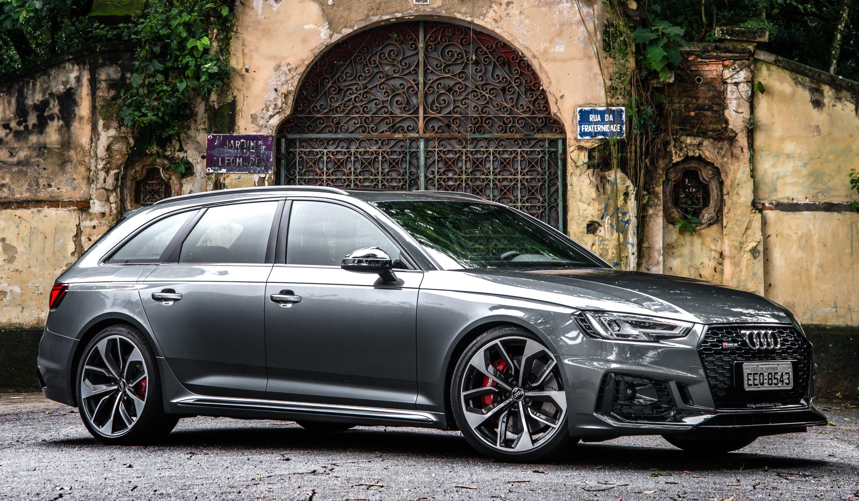 Nova Audi RS 4 Avant chega ao Brasil: station wagon de 450 CV acelera de 0 a 100 km/h em 4,1 segundos