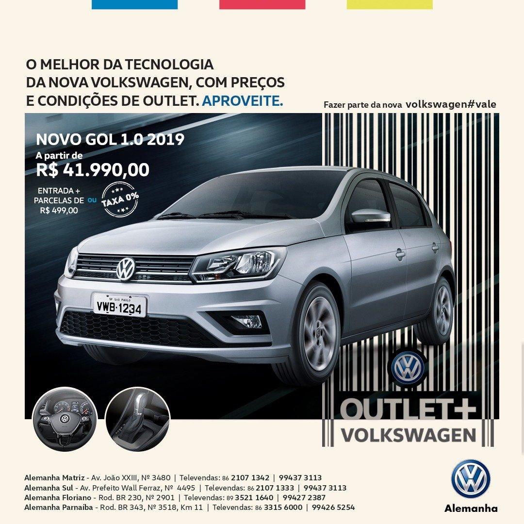 Outlet + Volkswagen: condições incríveis para você sair de carro zero! Confira as ofertas