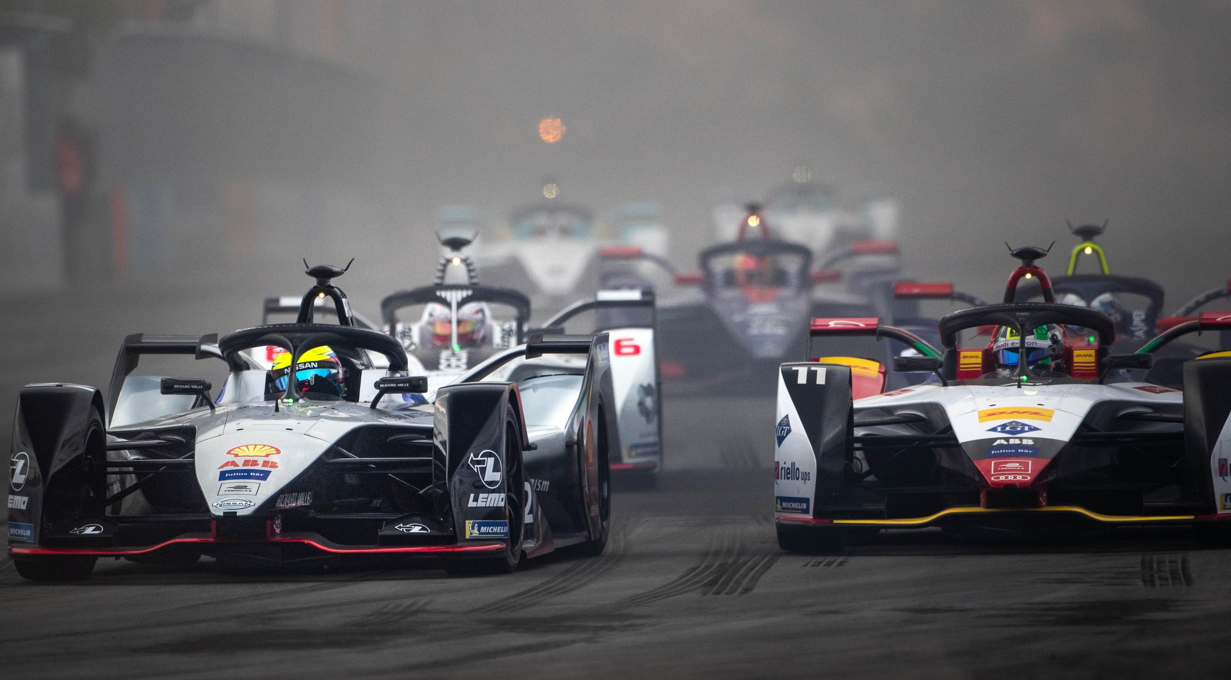 Audi e Nissan são destaques da Fórmula E, com carros elétricos: Lucas di Grassi alcança o pódio em Hong Kong