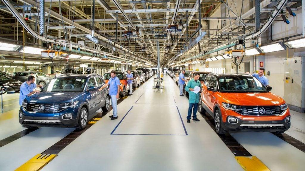 Volkswagen aumenta produção do SUV T-Cross no Brasil