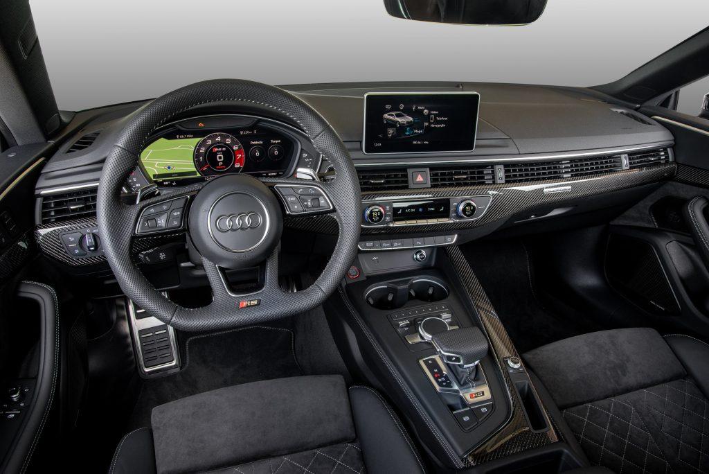 Audi Rs5 Coupe Superesportivo Que Acelera De 0 A 100 Km H Em 3 9 S Ja Pode Ser Encomendado