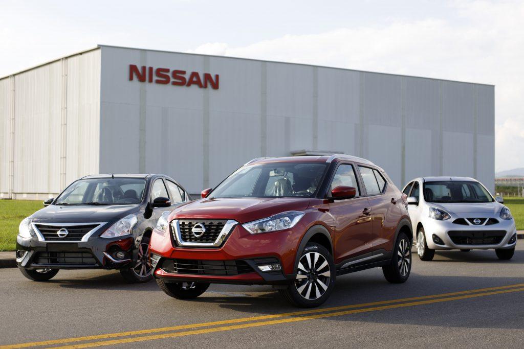 Fábrica da Nissan no Brasil, que produz Kicks, Versa e March, completa 5 anos de sucesso