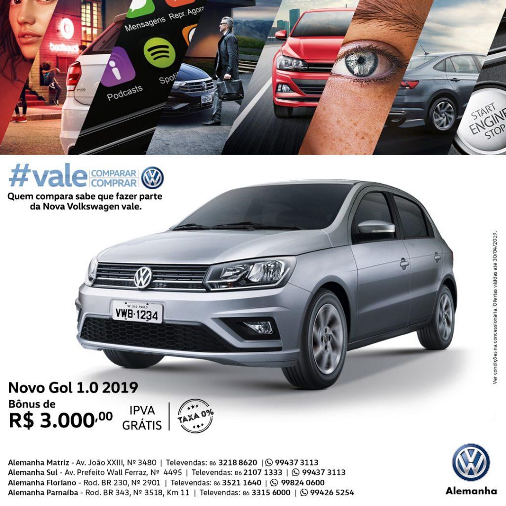 #Vale Comparar e Comprar Volkswagen: ofertas e bônus para você sair de carro zero em abril!