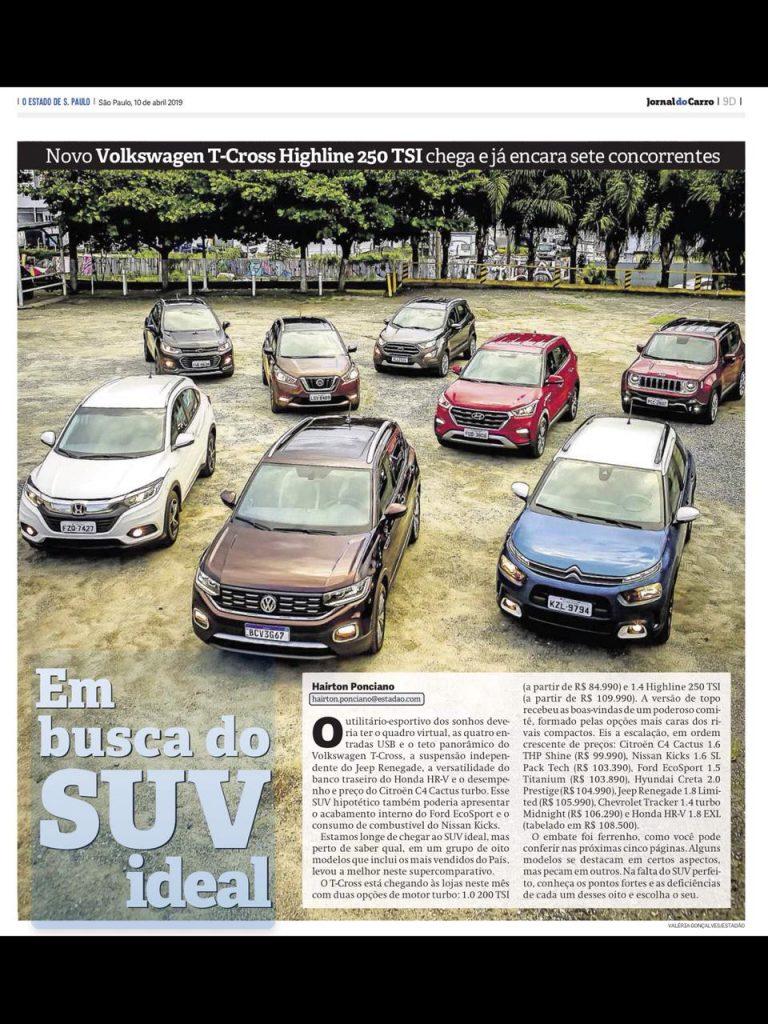 Volkswagen T-Cross: novo SUV consegue superar HR-V, Creta e Renegade? Confira aqui