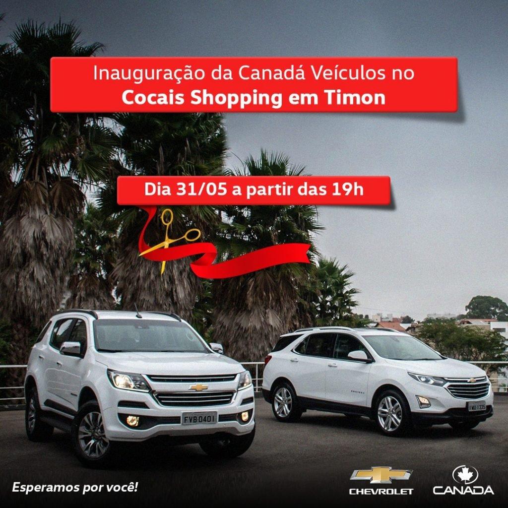 É hoje: Alemanha Veículos e Canadá Veículos inauguram seus showrooms no Cocais Shopping