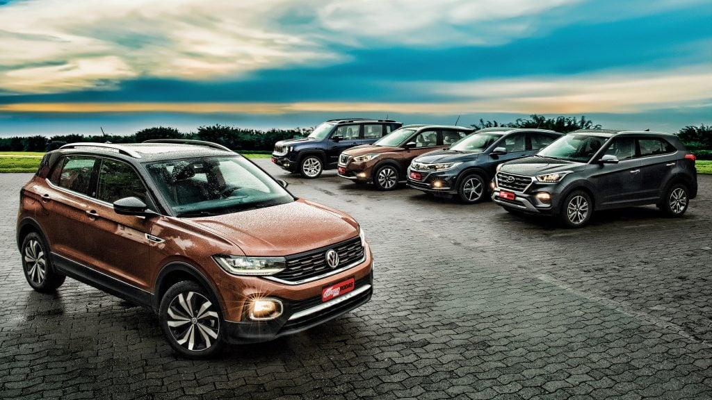 Volkswagen T-Cross encara os principais rivais em comparativo da Quatro Rodas: saiba a melhor opção