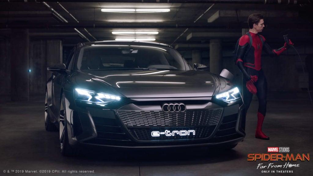 Audi Q8, A7 e e-tron estrelam filme Homem-Aranha: Longe de Casa
