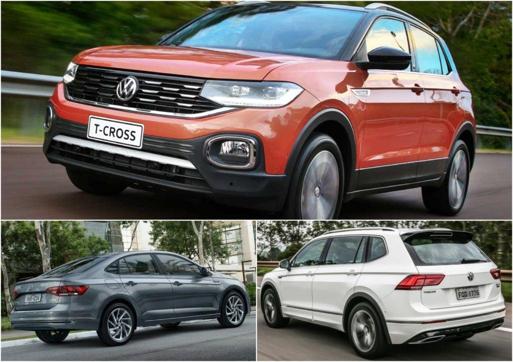 VW T-Cross, Virtus e Tiguan são os campeões do prêmio Melhor Compra 2019