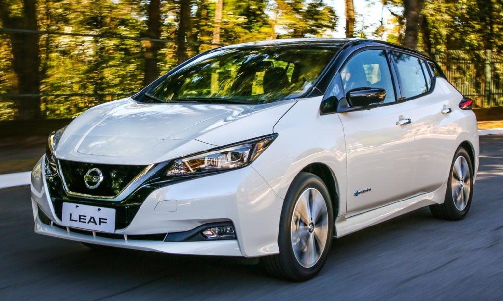 Nissan inicia comercialização do elétrico Leaf no Brasil, com autonomia de 389 quilômetros