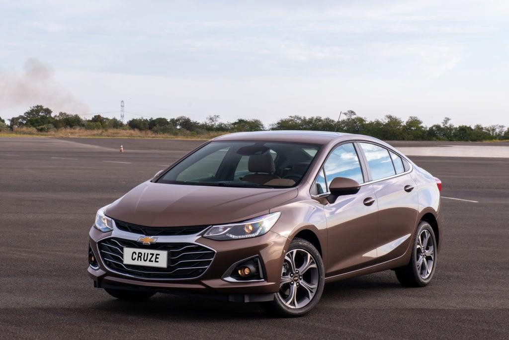 Chevrolet Cruze 2020, ainda mais tecnológico, traz Wi-Fi 4G a bordo e frenagem automática de emergência