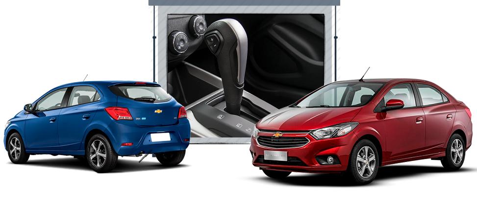 Chevrolet Onix e Prisma estão entre os automóveis automáticos mais vendidos do Brasil