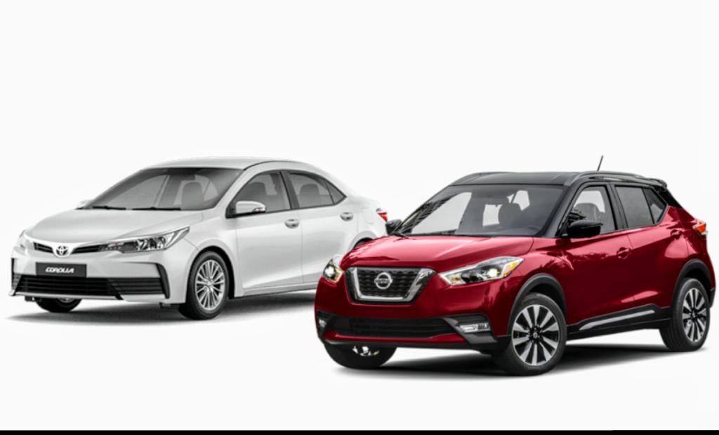 Vale a pena mudar para o mundo dos SUVs? Confira o comparativo entre Nissan Kicks e Toyota Corolla