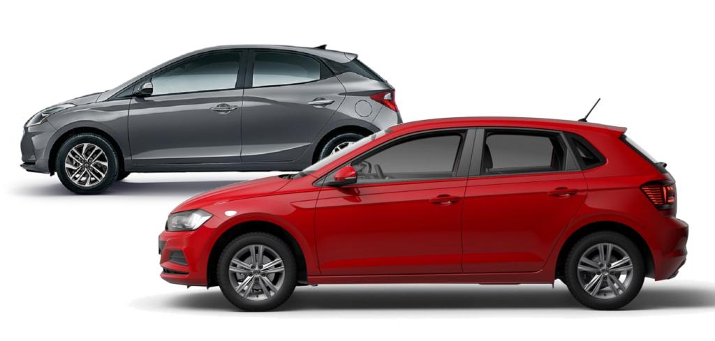 Volkswagen Polo MPI x Hyundai HB20 1.0: qual é a melhor opção de hatch para você? Confira!