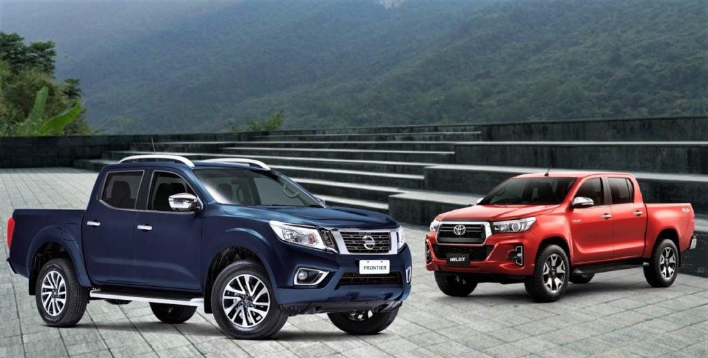 Comparativo entre Nissan Frontier LE e Toyota Hilux SRX, as picapes top de linha: saiba qual é a melhor!