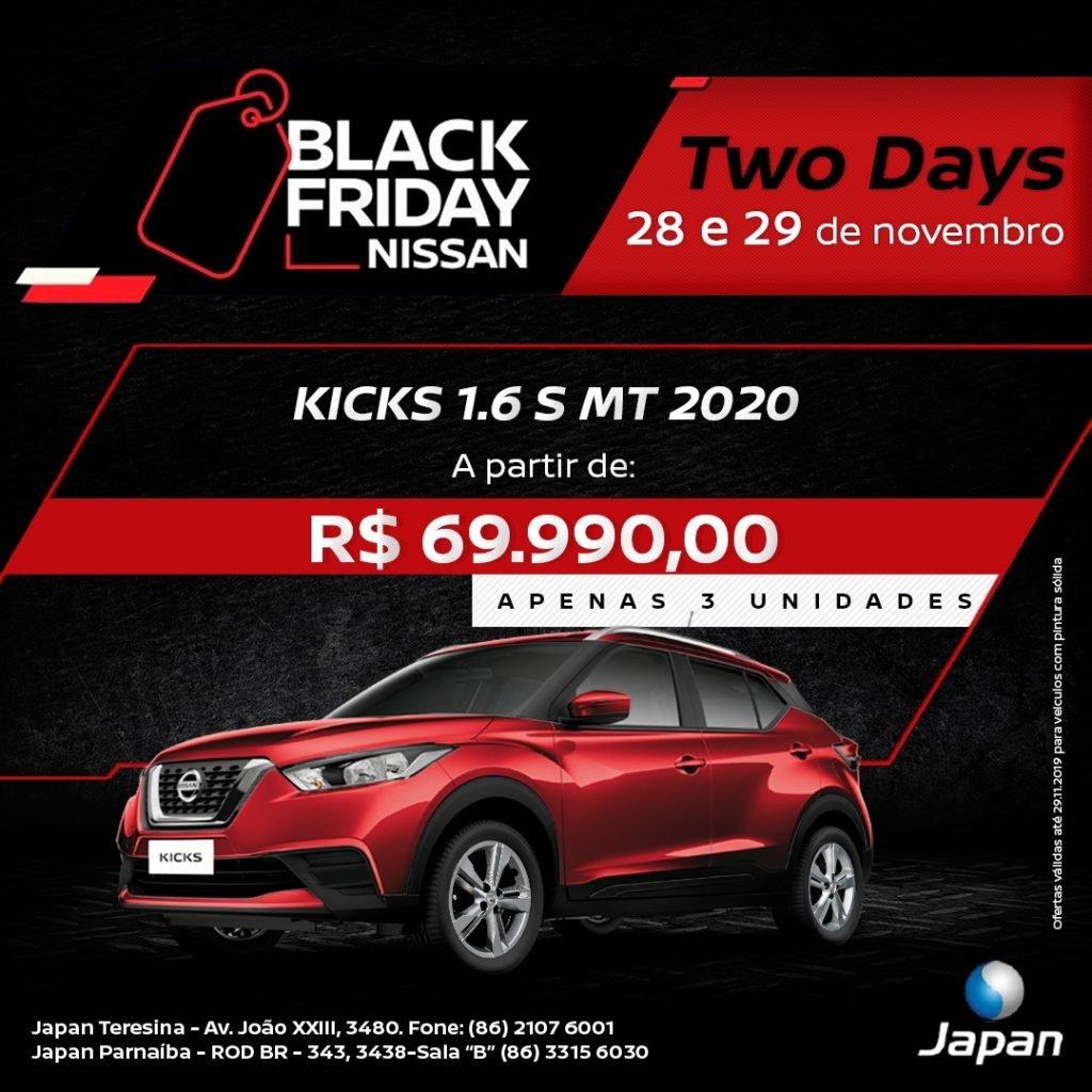 Black Friday Nissan: dois dias para você aproveitar as melhores ofertas do ano!