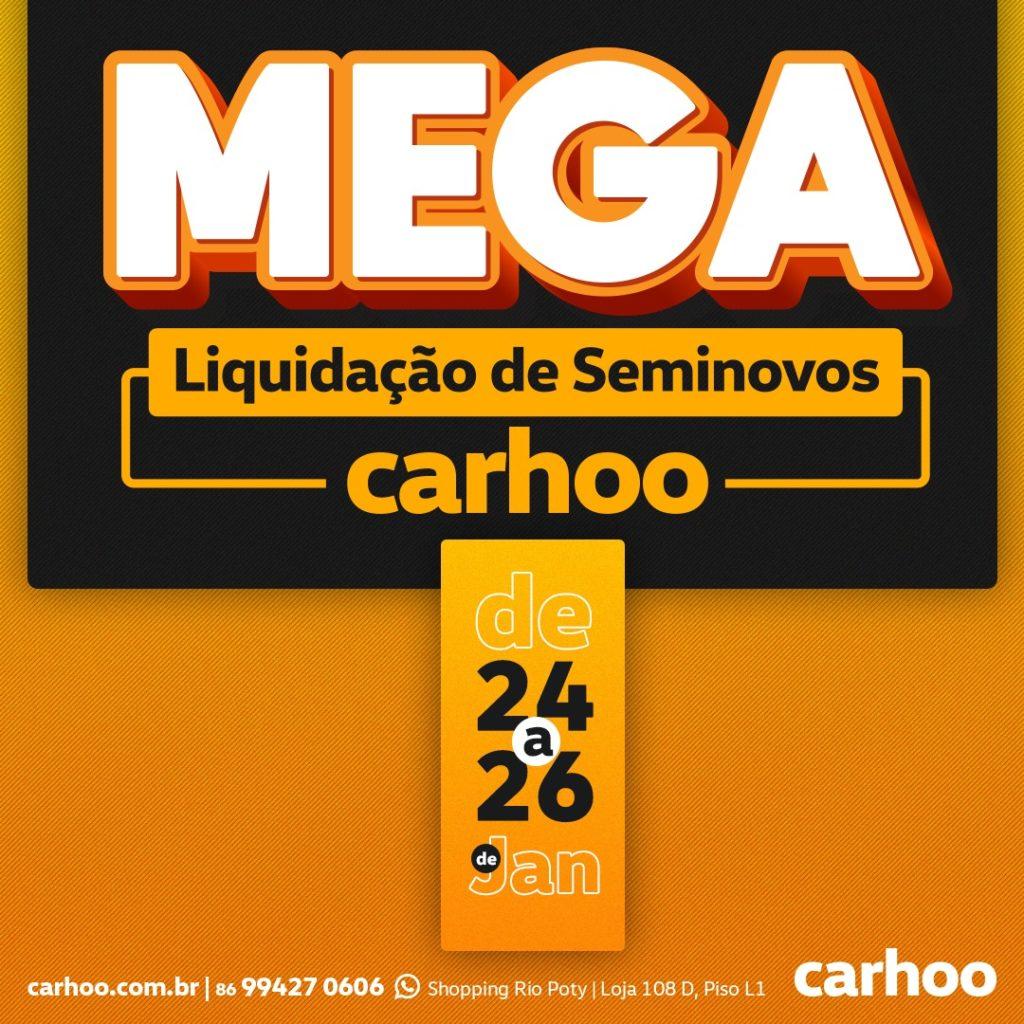 Confira as ofertas que aguardam por você na Mega Liquidação de Seminovos Carhoo!