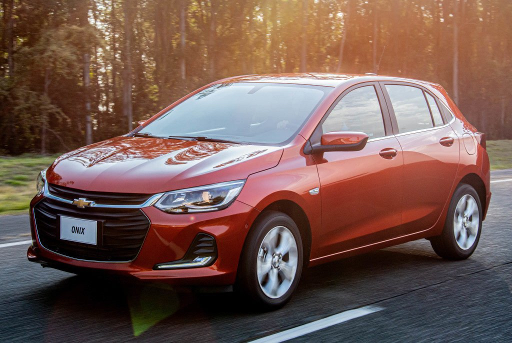 Chevrolet Onix se consagra como o Super-líder do mercado automotivo do Brasil