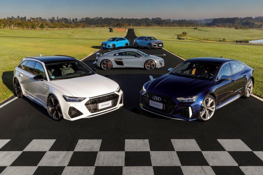 Audi inicia pré-venda dos esportivos RS 6, RS 7, RS Q3, RS Q3 Sportback e RS Q8
