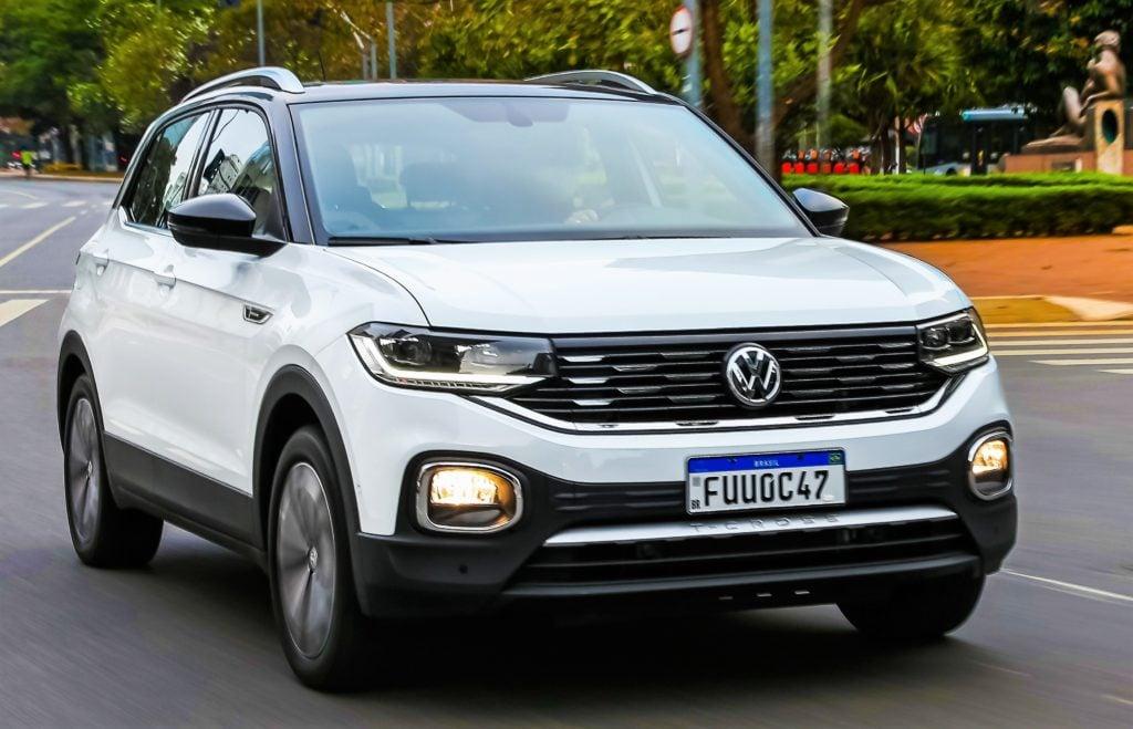 Carro mais vendido do Brasil, Volkswagen T-Cross traz novidades na linha 2021
