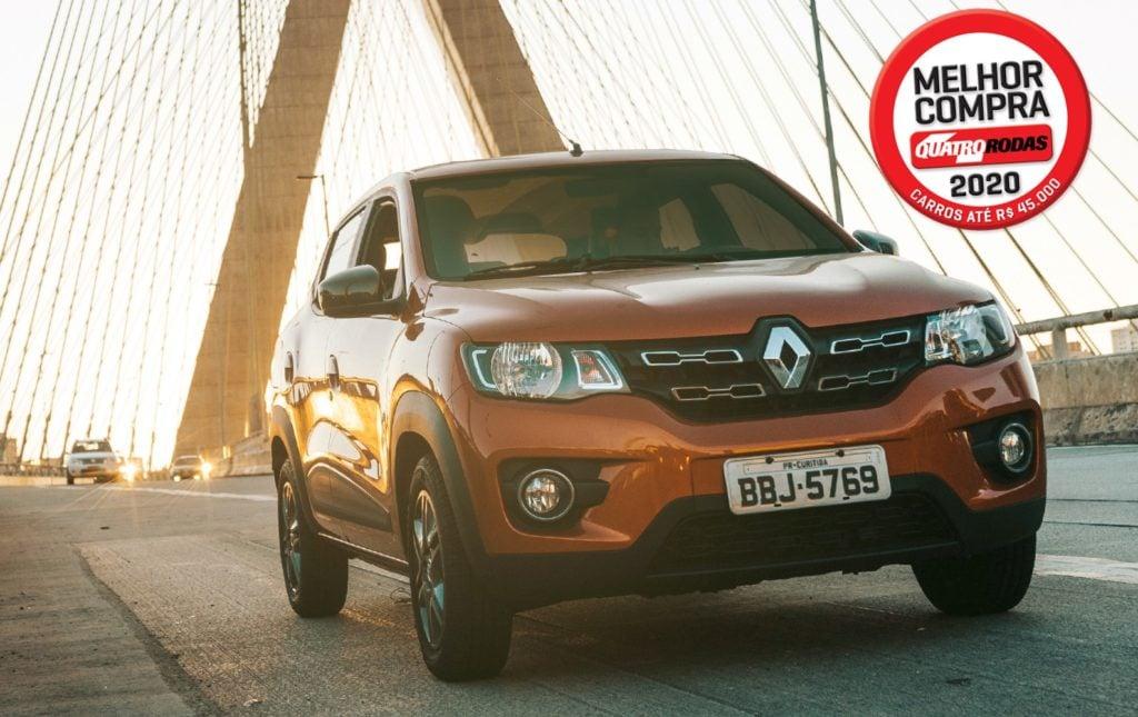Renault Kwid é eleito Melhor Compra pela Quatro Rodas pelo quarto ano consecutivo