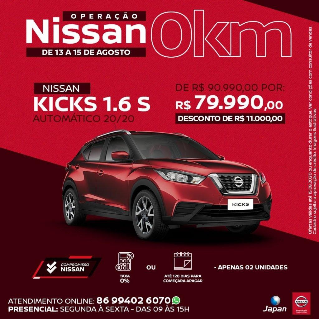 Operação Nissan 0km: só até sábado, condições especiais para toda a linha na Japan!