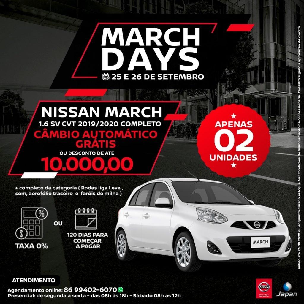 Começa hoje o March Days na Japan Veículos: tem descontos de até R$ 10.000,00!