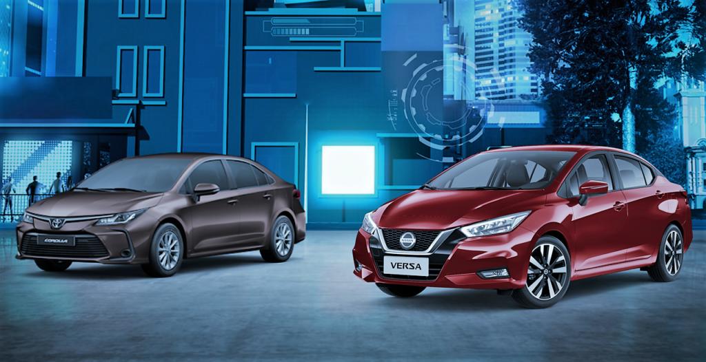 Novo Nissan Versa consegue encarar e superar o Corolla? Veja o comparativo!
